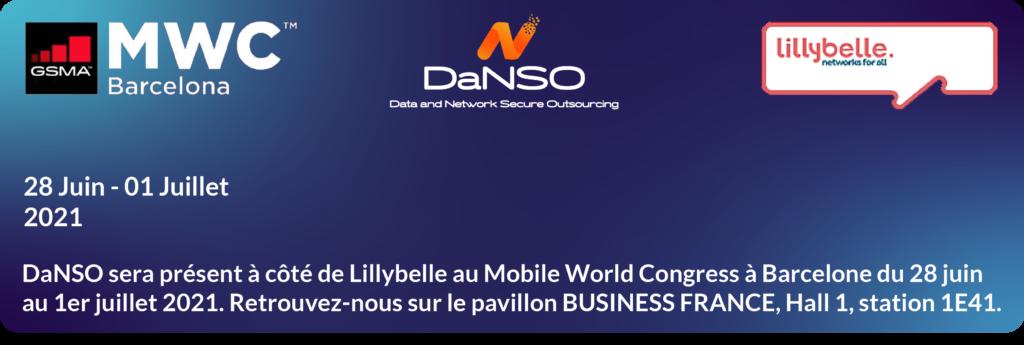 DaNSO sera présent à côté de Lillybelle au Mobile Word Congress
